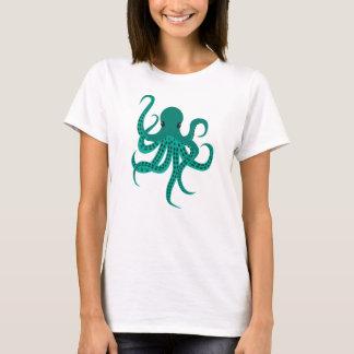 Cute Green Octopus T-Shirt