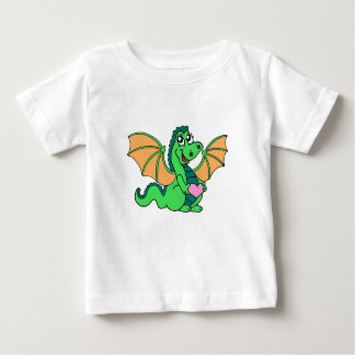 cute-green-orange-dragon baby T-Shirt