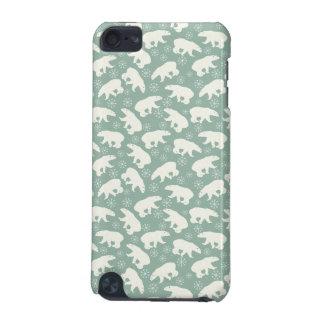 Cute green Polar Bear Case