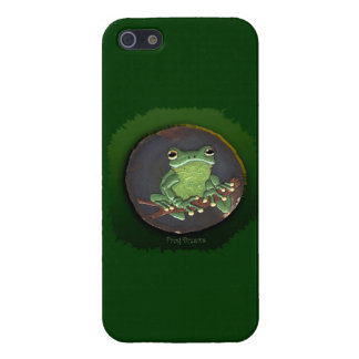 Cute Green Tree Frog Animal-lovers Gift iPhone 5/5S Cases