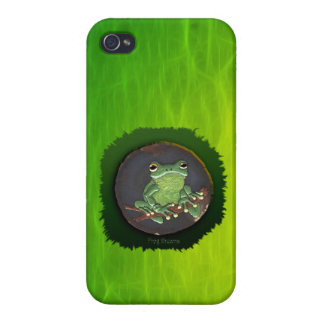 Cute Green Tree Frog Animal-lovers Gift iPhone 4/4S Covers