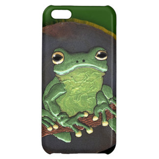 Cute Green Tree Frog Animal-lovers Phone Case iPhone 5C Cover