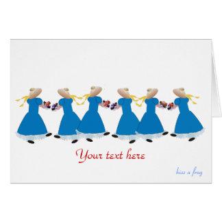 Cute Greetings Card - Customise