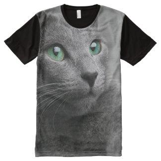 Cute grey cat All-Over print T-Shirt