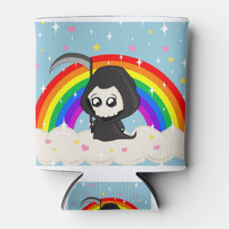 Cute Grim Reaper Can Cooler
