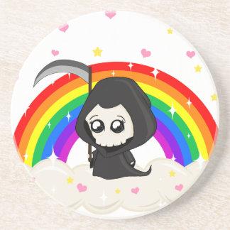 Cute Grim Reaper Coaster