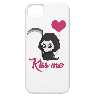 Cute Grim Reaper iPhone 5 Cases