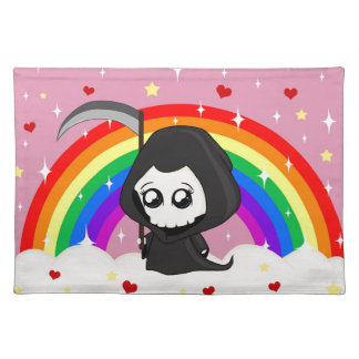 Cute Grim Reaper Placemat