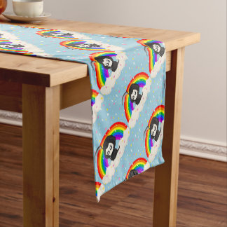 Cute Grim Reaper Short Table Runner