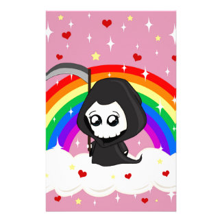 Cute Grim Reaper Stationery