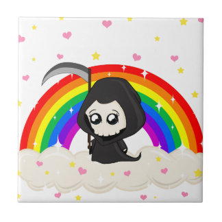 Cute Grim Reaper Tile
