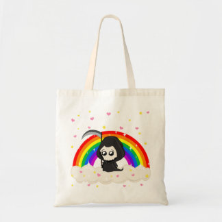 Cute Grim Reaper Tote Bag