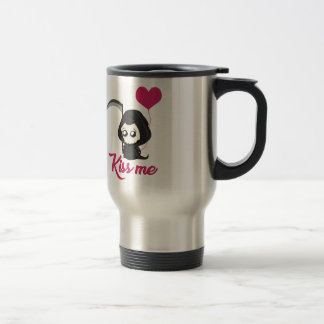 Cute Grim Reaper Travel Mug