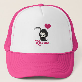 Cute Grim Reaper Trucker Hat