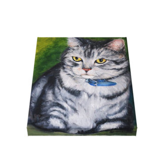 "Cute grumpy cat 30.5 cm x 30.5 cm(12"" x 12"")Single Canvas Print"