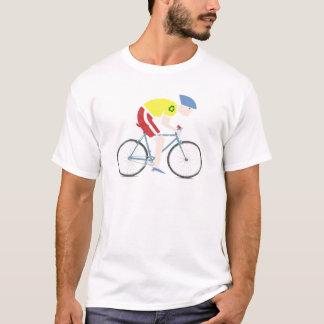 Cute grunge cartoon bike rider T-Shirt