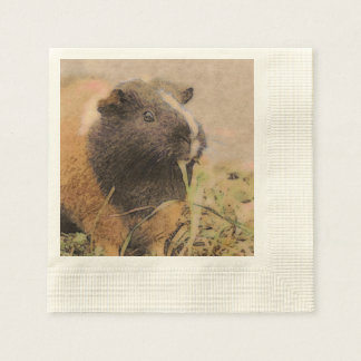 cute Guinea pig Disposable Napkin