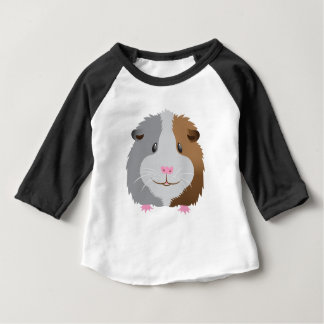 cute guinea pig face baby T-Shirt