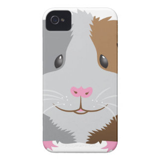 cute guinea pig face iPhone 4 cover