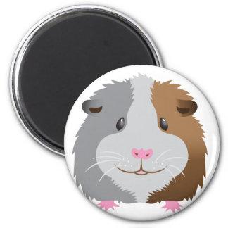 cute guinea pig face magnet