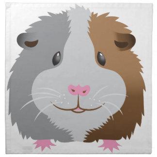 cute guinea pig face napkin