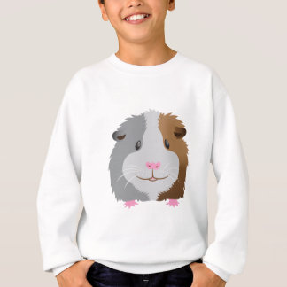 cute guinea pig face sweatshirt