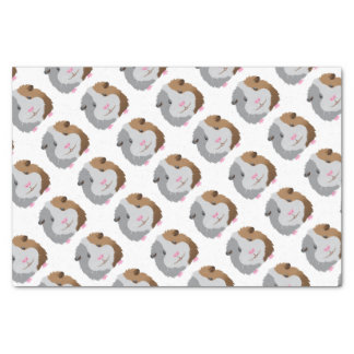 cute guinea pig face tissue paper