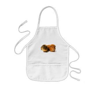 cute guinea pig kids apron
