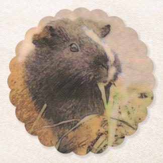 cute Guinea pig Paper Coaster