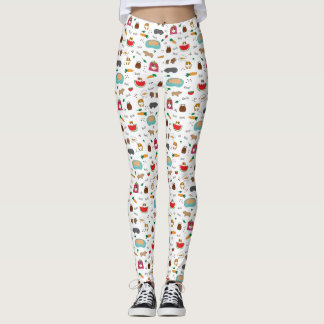 Cute Guinea Pigs Leggings