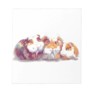 Cute Guinea Pigs Notepad
