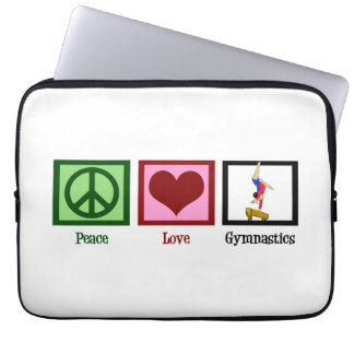 Cute Gymnastics Laptop Sleeve