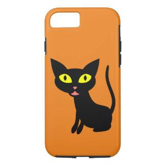 Cute, Halloween Black Cat iPhone 7 Case