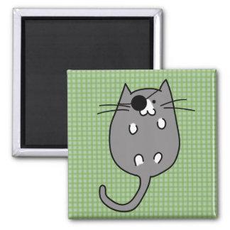 Cute Halloween Cat Costume Magnet