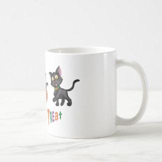 Cute Halloween Cats Basic White Mug