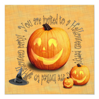 Cute Halloween (costume) party invitation