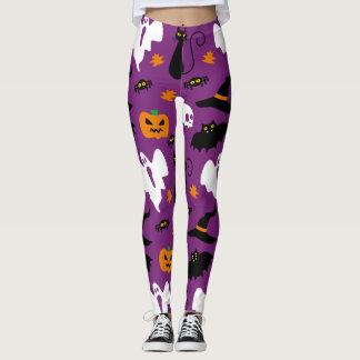 Cute Halloween Costume Party Leggings