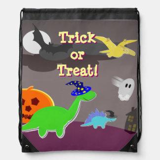 Cute Halloween Dinosaurs Trick or Treat Backpacks