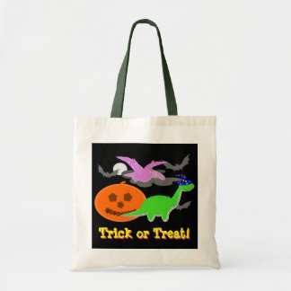 Cute Halloween Dinosaurs Trick or Treat Candy Bag