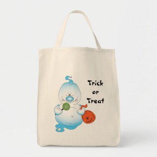 Cute Halloween Ghost Cartoon