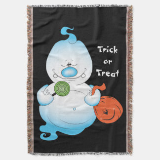 Cute Halloween Ghost Cartoon