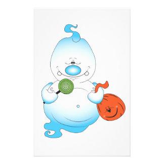Cute Halloween Ghost Cartoon 14 Cm X 21.5 Cm Flyer