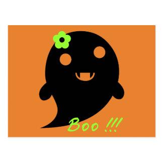 Cute Halloween Ghost Postcard