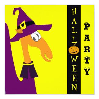 Cute Halloween Invitation Card - Customizable