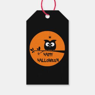 Cute Halloween Owl Gift Tags