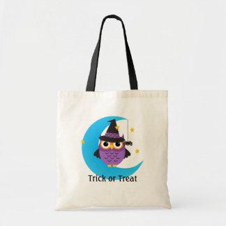 Cute Halloween Owls Tote Bag