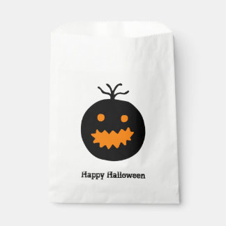 Cute Halloween Pumpkin Favour Bag