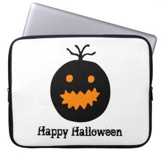 Cute Halloween Pumpkin Laptop Sleeve