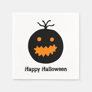 Cute Halloween Pumpkin Paper Napkins