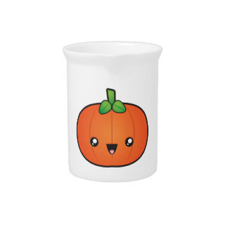 Cute Halloween Pumpkin Pitcher